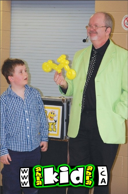 Kids Comedy Magician presents The Motorcycle